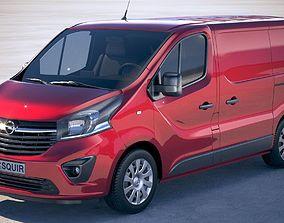 Opel Vivaro Cargo 2015-2018 3D model