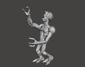 3D printable model Xenome Planet Alien toy figure