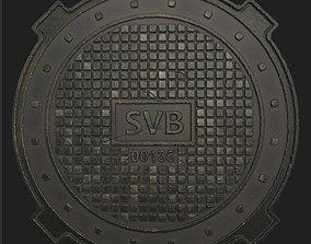 3D model Sewer Hatch