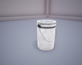 3D asset Industrial Bucket