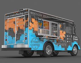 Food truck 3D