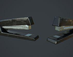 desk 3D model Realistic Stapler