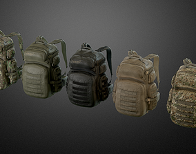 Backpack 04 3D model