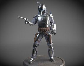 Star Wars Jango Fett 3D