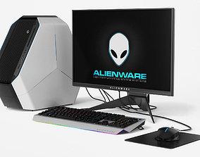 Dell Alienware Computer Set 3D