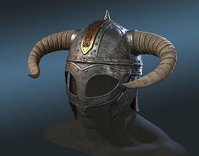 3D model Viking Helm
