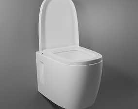 3D model Toilet interior