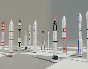 3D model Rocket collection