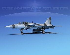 3D model SAAB JAS 39 Gripen V10