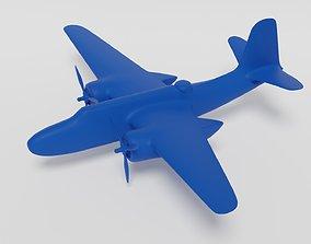 Douglas DB-7 A-20 Havoc Boston 3d print havoc