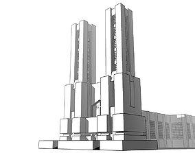 3D model Futuristic Dreams of an Architect Antonio Sant