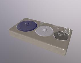 toki PBR 3D model low-poly