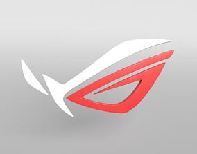 3D asset ROG Logo version1 001