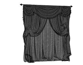 furniture 3D model curtains