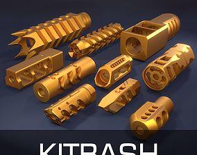 Compensators kitbash PART2 3D