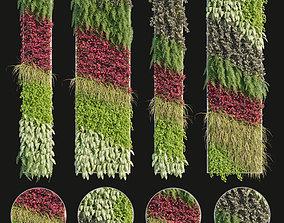 3D Vertical garden 04
