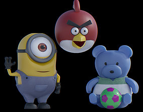 Animated Toy 3D