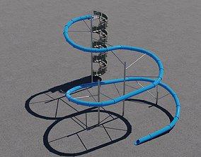 Water Slide 3D model game-ready