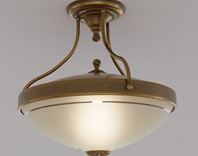 Vintage Ceiling Lamp room 3D
