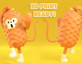 3D print model miniatures Monkey