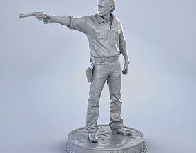 3D print model Rick Grimes