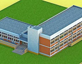 Kindergarten 3D walls