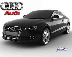 chrome 3D model Audi A5