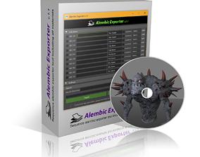 3D model Alembic Exporter v1