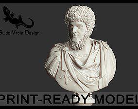 Printable Lucius Verus Emperor Bust