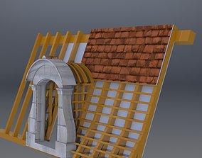 Dog House kennel 3D model