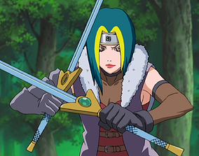 3D model Sword From Anime Naruto