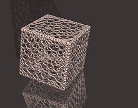 Voronoi style cube primitive for 3D printing