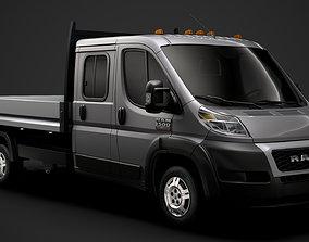 Ram Promaster Cargo Crew Cab Truck 2020 3D
