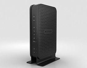 3D NetGear C3000 Wi-Fi Cable Modem Router