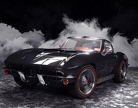 Corvette Stingray 427 1967 3D model