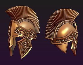 Spartan helmet 3D printable model