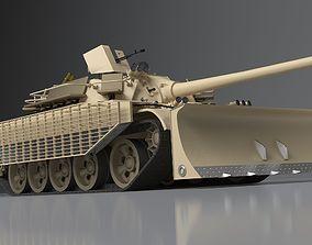 Tank T55 3D asset