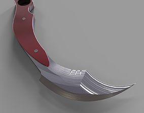 Karambit knife 4 3D print model