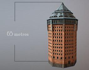 3D model Hamburg Water Tower