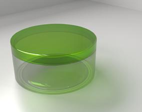 Cream Container 3 3D