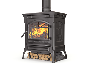 Wood Burning Stove 3D