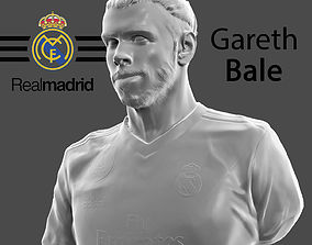 Gareth Bale 3d model