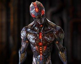 alien - Biomechanical Mutant 3D