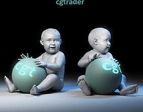 Baby Basemesh 3D model