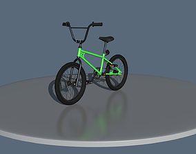 3D asset BMX bike
