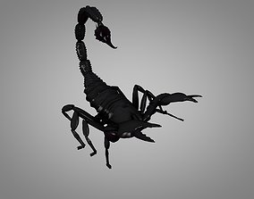 Scorpion 3D model animated