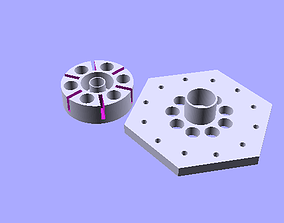 3D Printable Magnetic Bearing