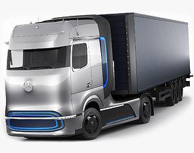 3D Mercedes-Benz GenH2 Truck