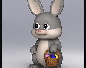 3D model Cartoon Bunny