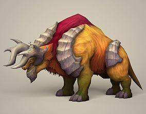 3D asset Fantasy Bull